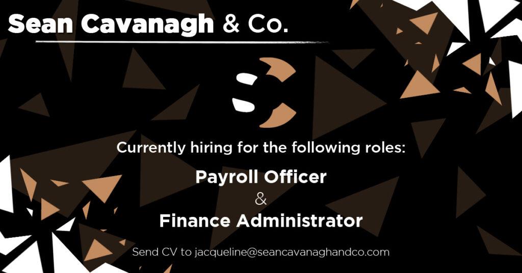 Now Hiring @ Sean Cavanagh and Co.