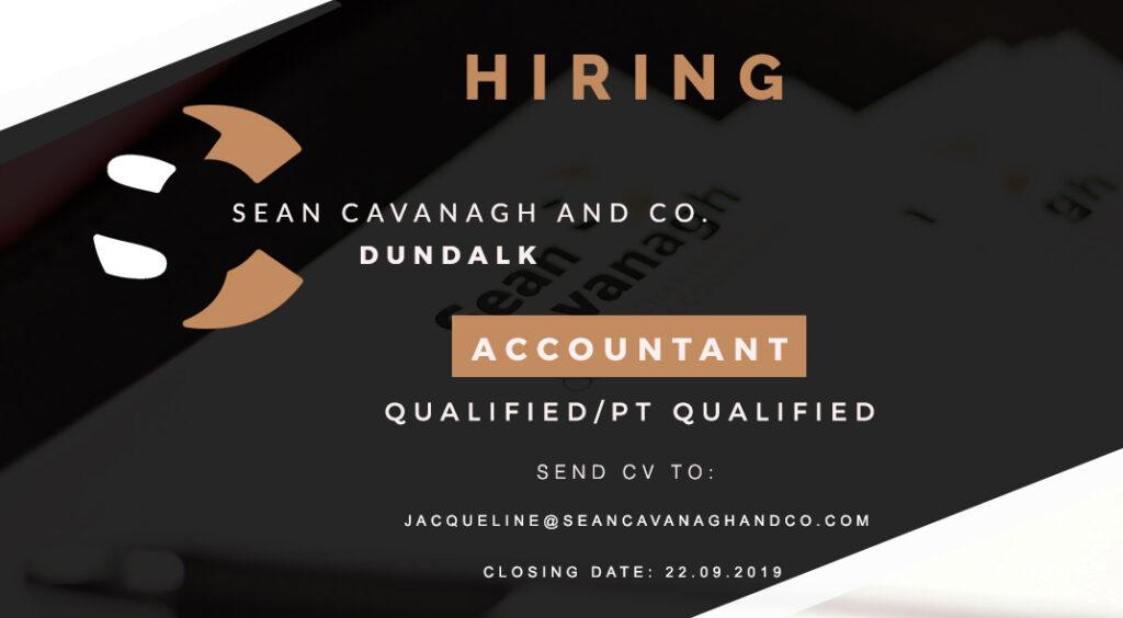 Accountant – Dundalk – Sean Cavanagh and Co.