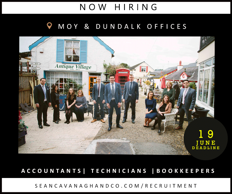 NEW JOB OPPORTUNITIES – MOY AND DUNDALK